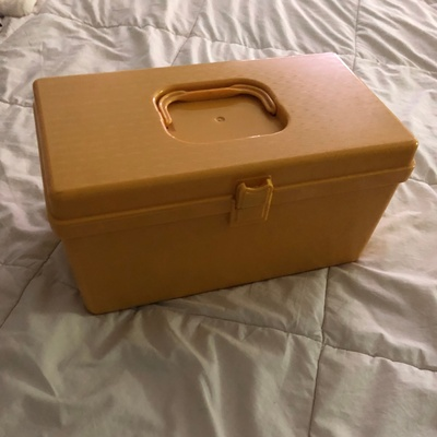 Yellow Sewing Box