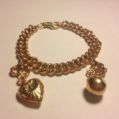 My grandmother's gold bracelet.