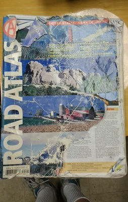 Cover of Triple A road atlas