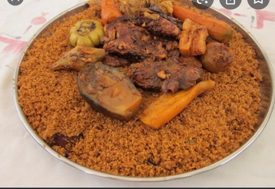 Thiebou dieune also called rice and fish