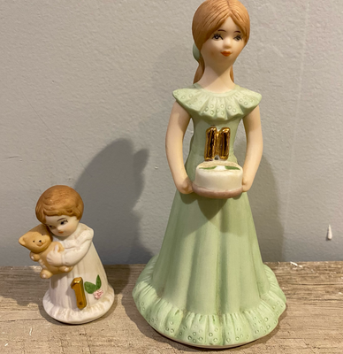 growing up porcelain dolls with numbers