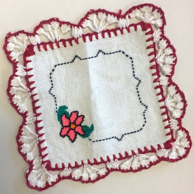 Servilleta tejida, woven cloth