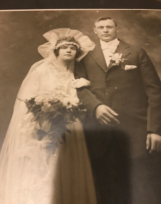 Great Grandparents Wedding Photo