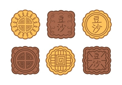Different moon cakes