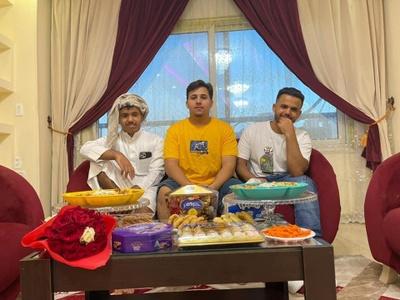Eid in Yemeni Family outside Yemen