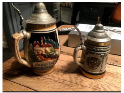 Antique German Steins