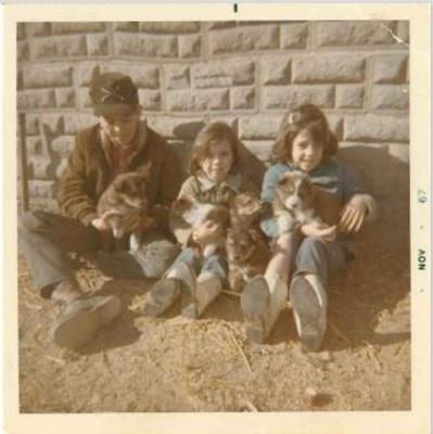 Allen, Lori and Sharon Kennedy 1967