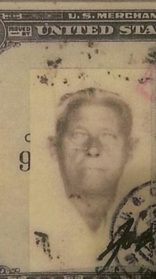 Photo from Merchant Marines Card
