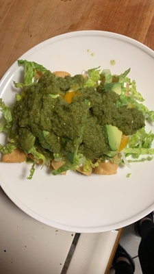 This is a picture of flautas