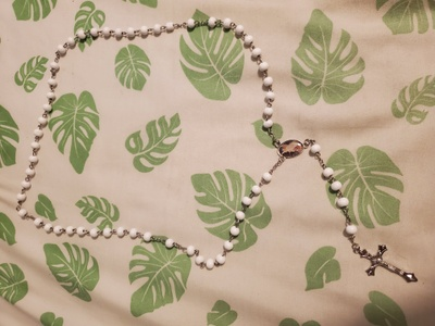 The father's rosary