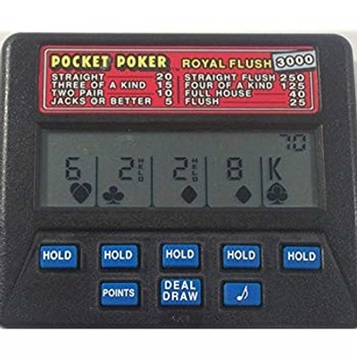 A stock photo of the pocket poker device