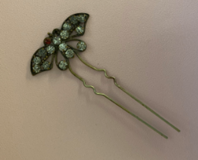 Butterfly pin from Poland.
