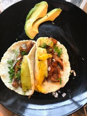 Tacos al Pastor (pork)