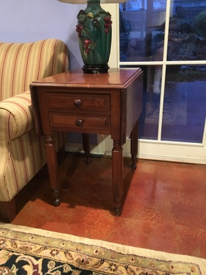 mahogany table from Germany