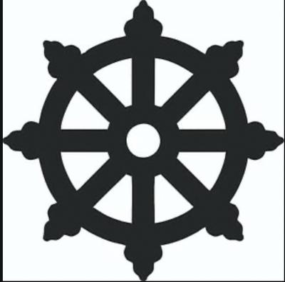 The wheel of Dharma