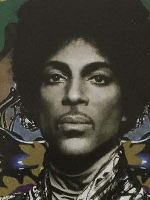 This is prince's face with afro!