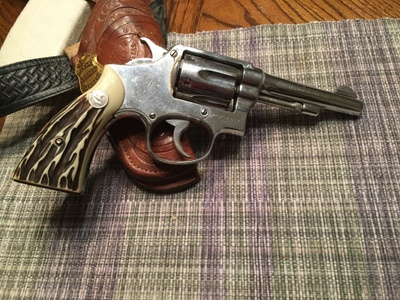 Smith and Wesson .38 Special F.O. Goen