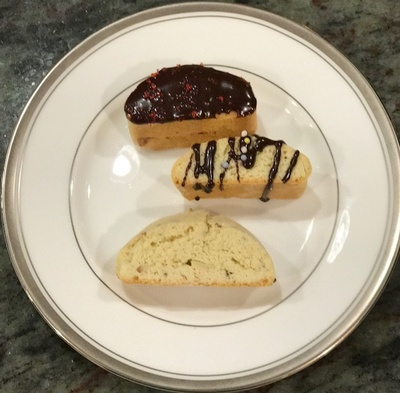 homemade biscotti made with the family recipe