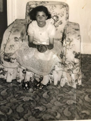 August, 1955 at age 12.