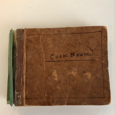 A fragile cookbook from the 50s/60's
