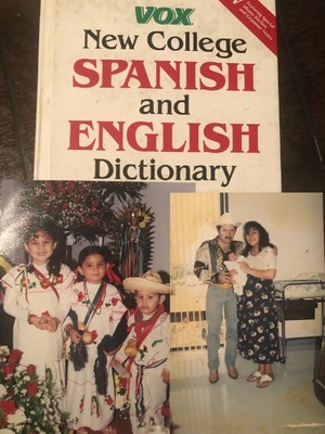 My family and dictionary my parents used