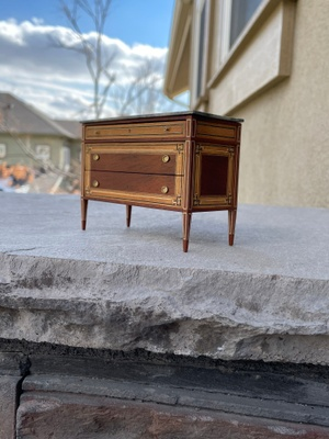 Swedish cabinet of drawers miniature.