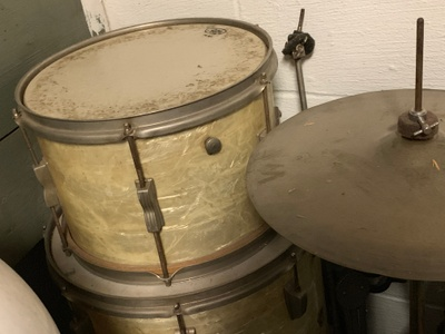My Great Grandfather's old Ludwig.
