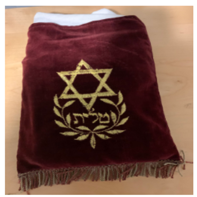 Tallit Holder - Bar Mitzvah