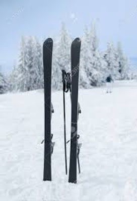 my skis today