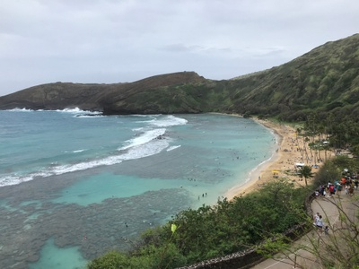After visiting Hawai'i in January of 2020, I felt even closer to my heritage and was able to explore it even more.