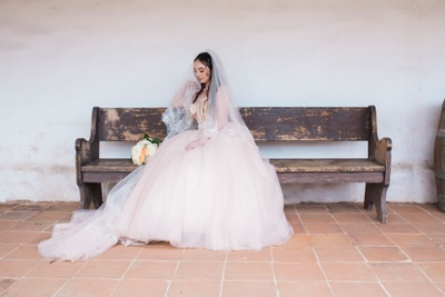 Myself in my wedding dress