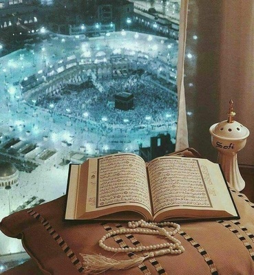 In Mecca people were reading Quran