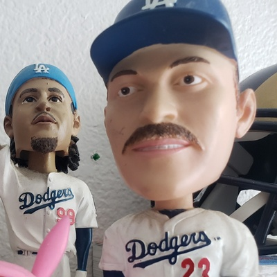 The bobblehead is on the far right