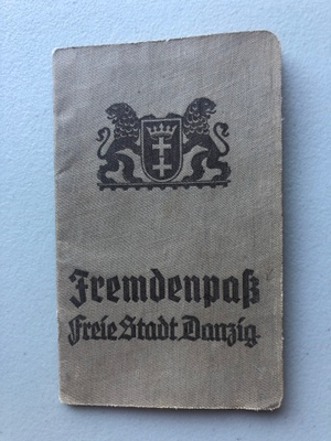 Passport, Free State Danzig