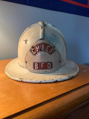 Image of The Fire Captains Helmet
