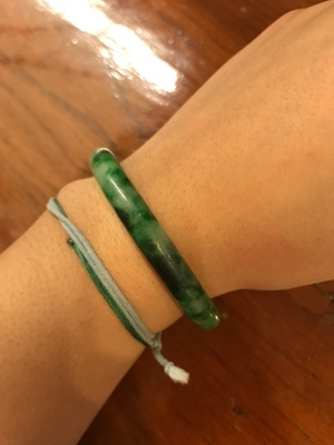 My jade bracelet