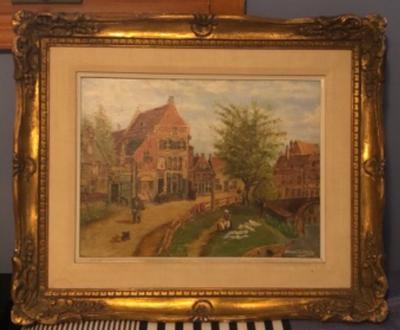 My great grandpa's painting