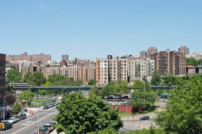 The South Bronx, where I was born and where my grandmother lives