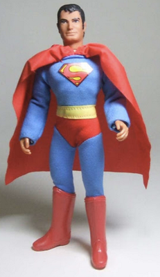"""The """"Superman Toy"""" given by my uncle."""