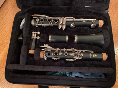 An old clarinet