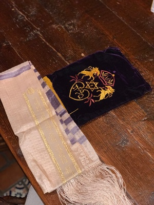 Tallit and Carrying Purse