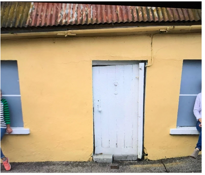 Grandfather's House in Ireland