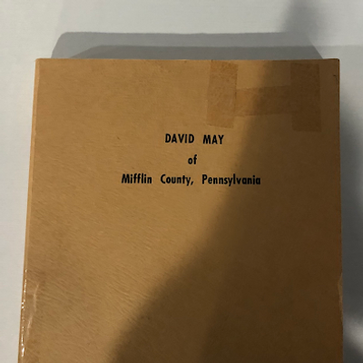 A picture of David May's books