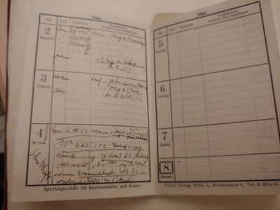 Kurt Wellisch's May 4th meeting with the Gestapo and his arrest the same day.