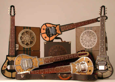National Steel Lap Guitars