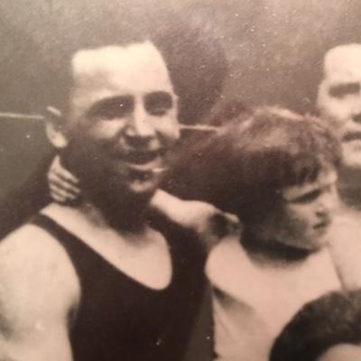 Joseph O'Gorman with Eithne O'Gorman