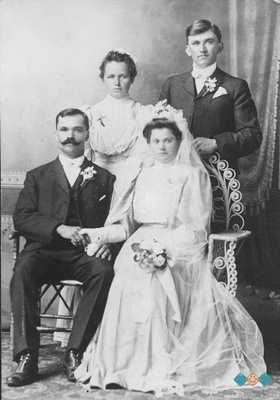 Joseph Spreitzer & Kath. Judnich Wedding
