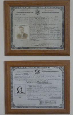 Certification of Citizenship