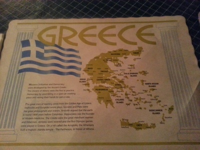 The Greek Corner Placemat
