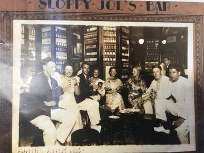Sloppy Joe's Bar, Havana, 1935